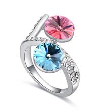 奥地利水晶戒指--暗香疏影(彩)