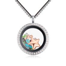 水晶魔盒可打开毛衣链―圆圈(星月)