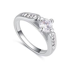 AAA级微镶锆石戒指--相望