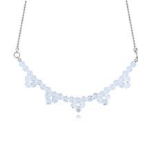 奥地利水晶项链--情深厚谊(白色)