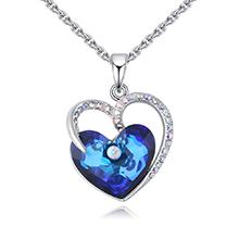 奥地利水晶项链--爱情海