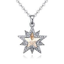 奥地利水晶项链--星缘奇梦(金色魅影)