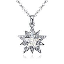 奥地利水晶项链--星缘奇梦(白色)
