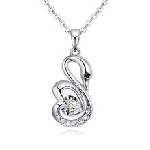 奥地利水晶项链--浪漫天使(白色)