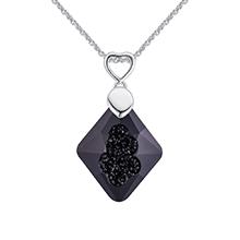 奥地利水晶项链--从心所欲(黑色)