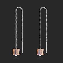 奥地利水晶S925银针--爱的方糖(金色魅影)