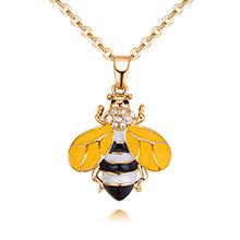 欧美风格时尚百搭蜜蜂(黄色)