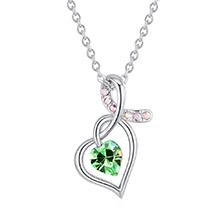 水晶项链--心恋奇缘(橄榄)