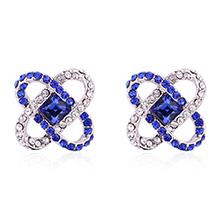 水晶袖扣--逐梦之音(蓝色)