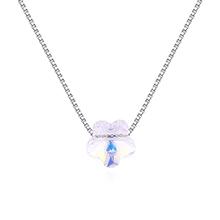 水晶项链--咏梅(彩白)