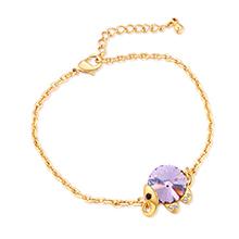 水晶手链--魔力小象B款(紫罗兰)