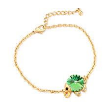 水晶手链--魔力小象B款(橄榄)
