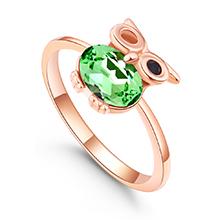 水晶戒指--魔法飞行者(橄榄)
