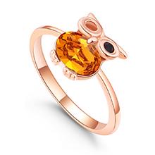 水晶戒指--魔法飞行者(黄水晶)