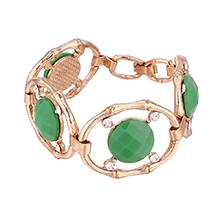 欧美夸张复古手链(绿色)