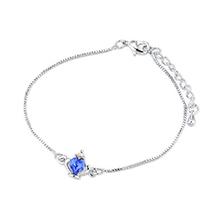 奥地利水晶手链--皇冠(蓝色)