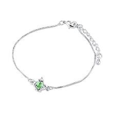 奥地利水晶手链--皇冠(橄榄)
