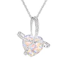 奥地利水晶项链--心愿(彩白)
