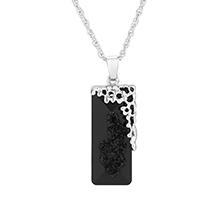 奥地利水晶项链--似水年华(黑色)