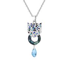 奥地利水晶项链--铠甲勇士(蓝光)