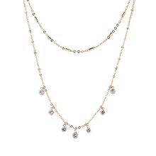 AAA级锆石项链--耀眼(14K金)