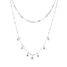 AAA级锆石项链--耀眼(白金)