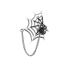 韩版时尚蜘蛛网状胸针