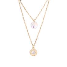 奥地利水晶项链--柔情似水(14K金)