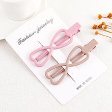 韩版时尚眼镜蝴蝶结发夹(颜色随机)