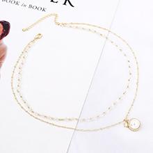镀真金项链--星珠恋