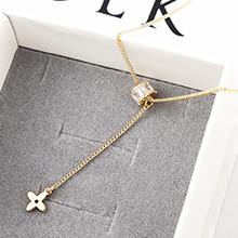 AAA级锆石项链--星年轮(14K金)