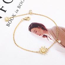 AAA级锆石手链--花中蕊珠(14K金)