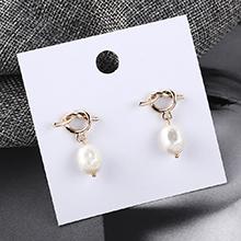 韩版百搭大牌时尚珍珠耳环