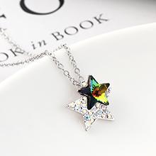 奥地利水晶项链--星星(七彩)