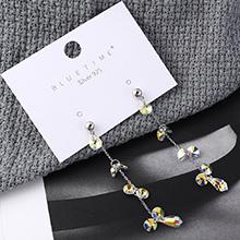 奥地利水晶耳环--光芒照耀