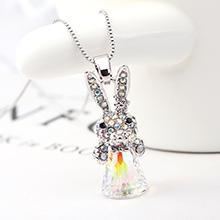 奥地利水晶项链--小小流氓兔