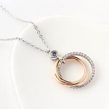 AAA级锆石项链--三圈之情