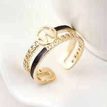 镀真金戒指--指环王(14K金)