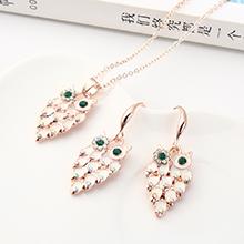 韩版简约时尚复古小猫头鹰套装