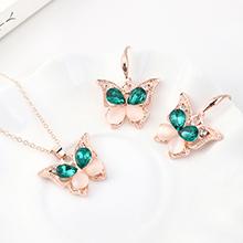 韩版创意复古时尚小蝴蝶套装