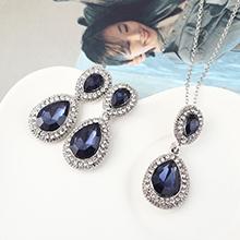 韩版时尚气质百搭水滴套装